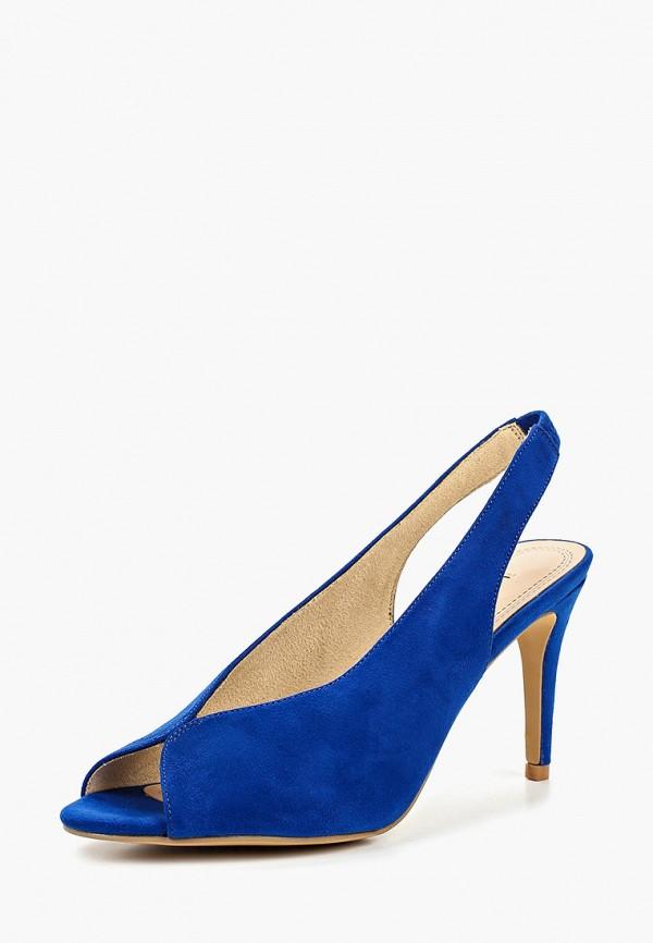 Фото 2 - женские босоножки Corina синего цвета