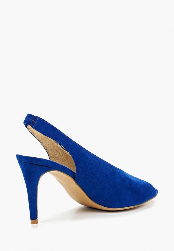 Фото 3 - женские босоножки Corina синего цвета