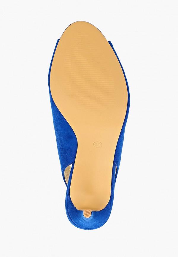 Фото 5 - женские босоножки Corina синего цвета