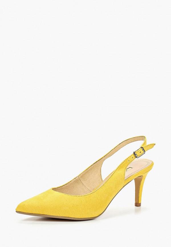 Фото 2 - женские туфли Corina желтого цвета