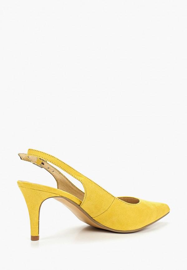 Фото 3 - женские туфли Corina желтого цвета