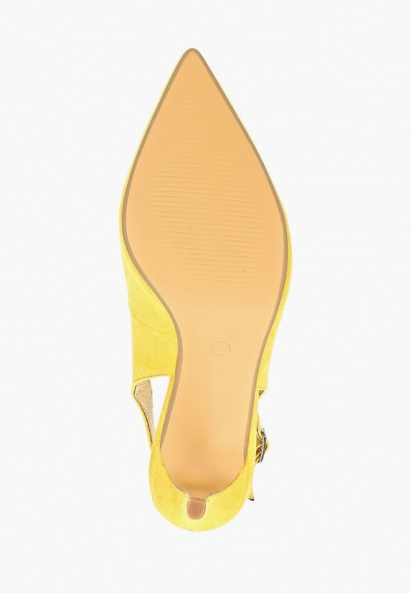 Фото 5 - женские туфли Corina желтого цвета