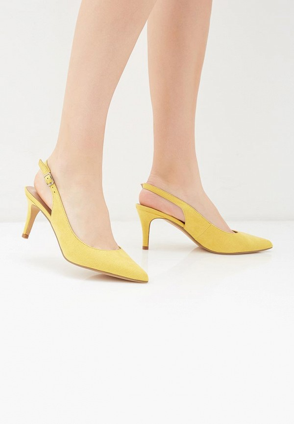 Фото 6 - женские туфли Corina желтого цвета