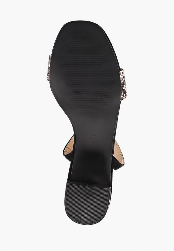 Фото 5 - женские босоножки Corina черного цвета