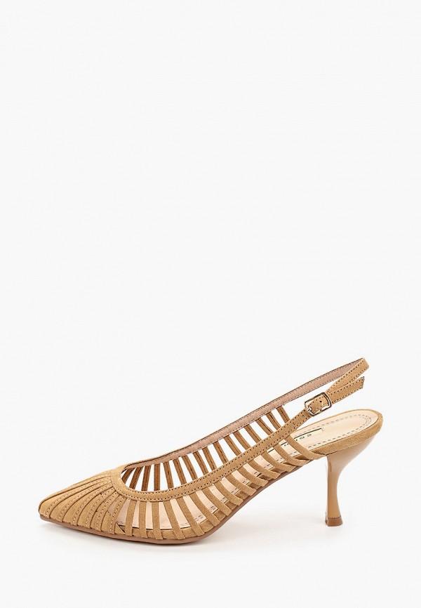 женские туфли corina, коричневые
