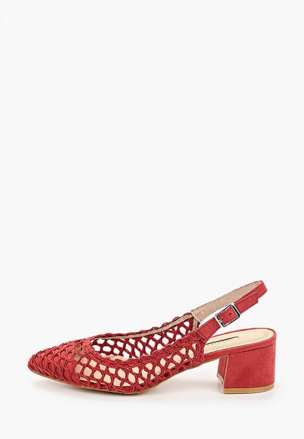 женские туфли corina, красные
