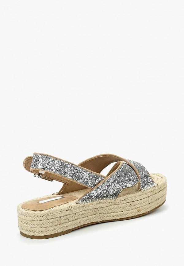 Фото 12 - женские сандали Corina серебрянного цвета