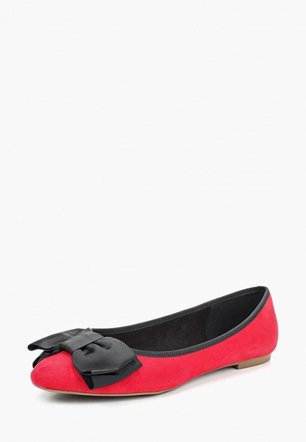 женские балетки corina, красные