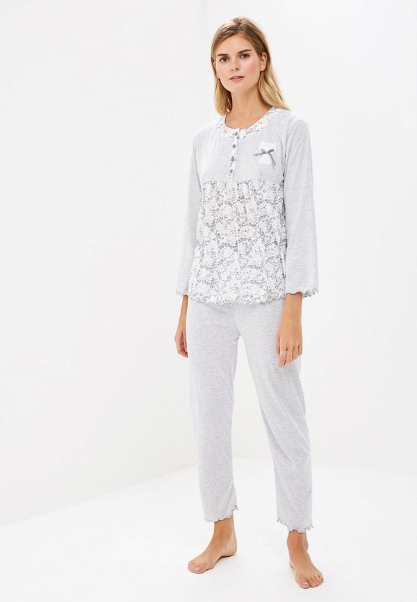 Купить Пижама Cootaiya, co060ewclzy8, серый, Осень-зима 2018/2019