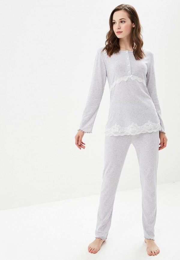 Купить Пижама Cootaiya, CO060EWCLZZ4, серый, Осень-зима 2018/2019