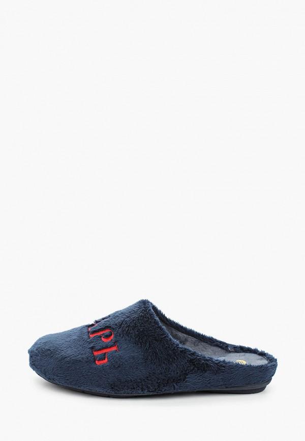 мужские тапочки costa, голубые