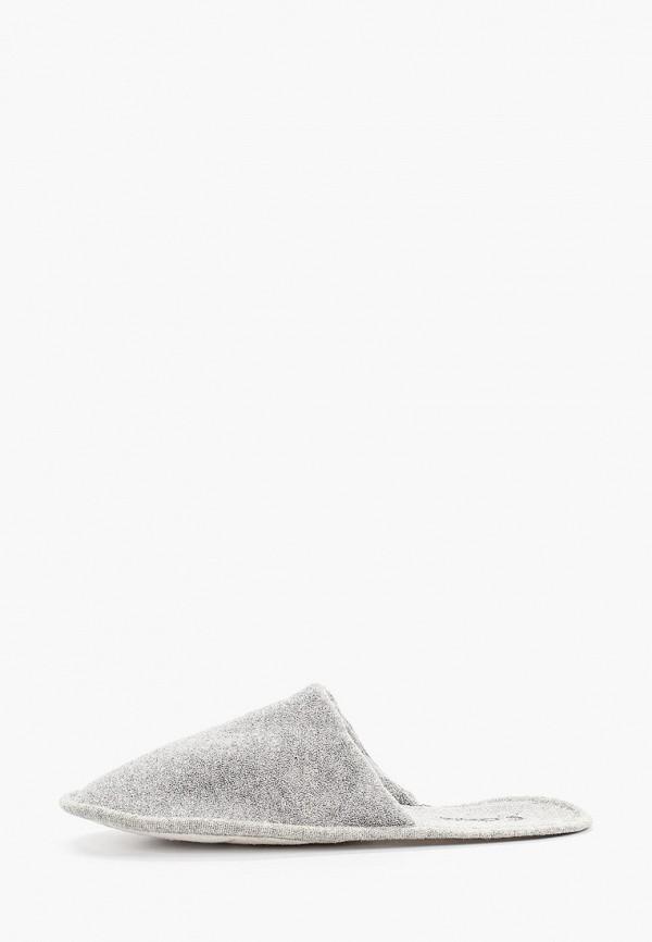 мужские тапочки costa, серые