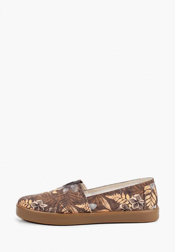 мужские слипоны costa, коричневые