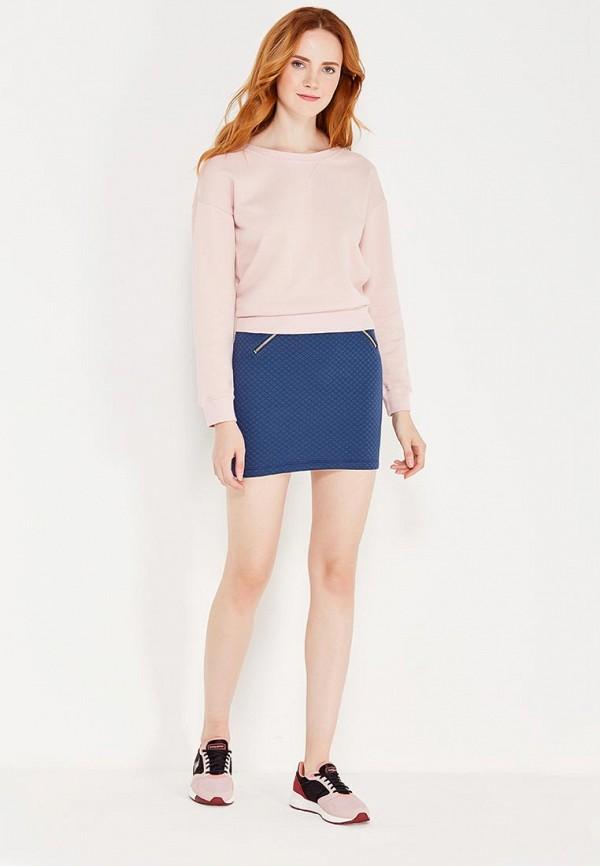 Фото 2 - Женскую юбку Coquelicot синего цвета