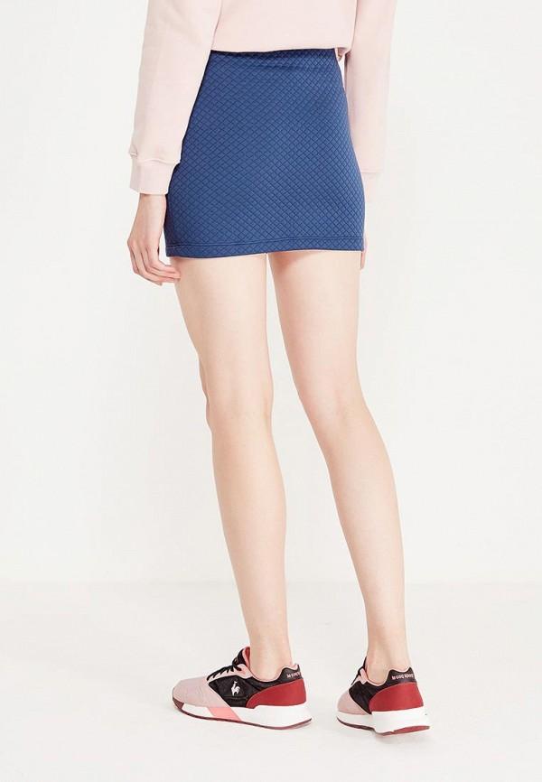 Фото 3 - Женскую юбку Coquelicot синего цвета