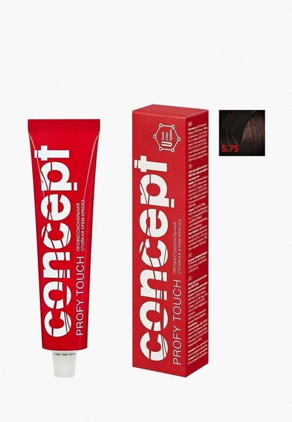 краска для волос concept, коричневый