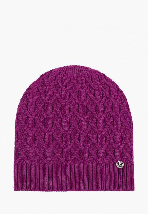 мужская шапка coompol, фиолетовая