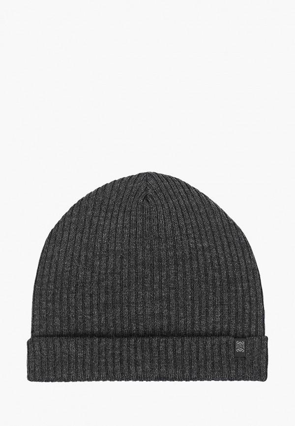 мужская шапка coompol, серая