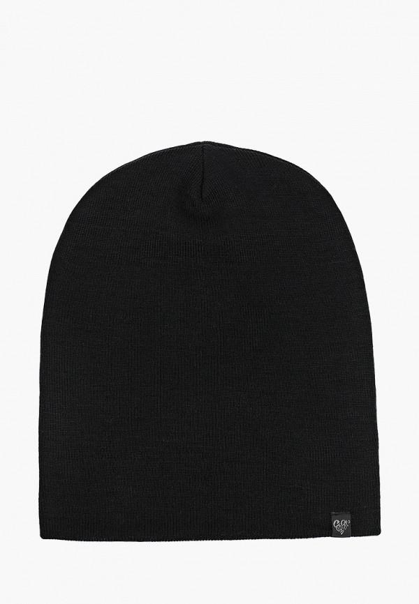 женская шапка coompol, черная