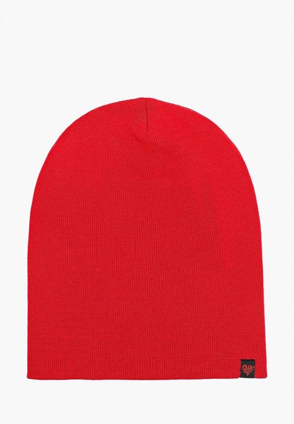 женская шапка coompol, красная