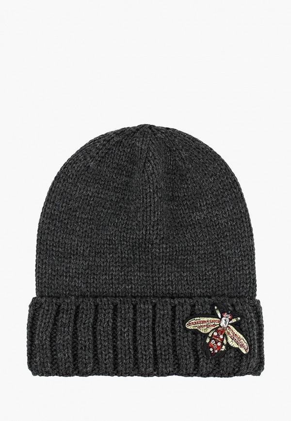 женская шапка coompol, серая