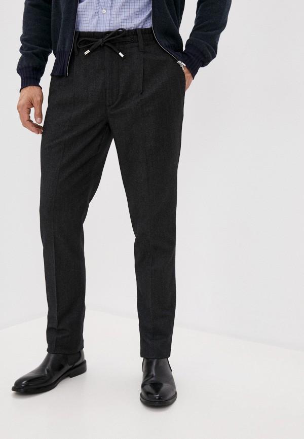 мужские повседневные брюки cortigiani, серые