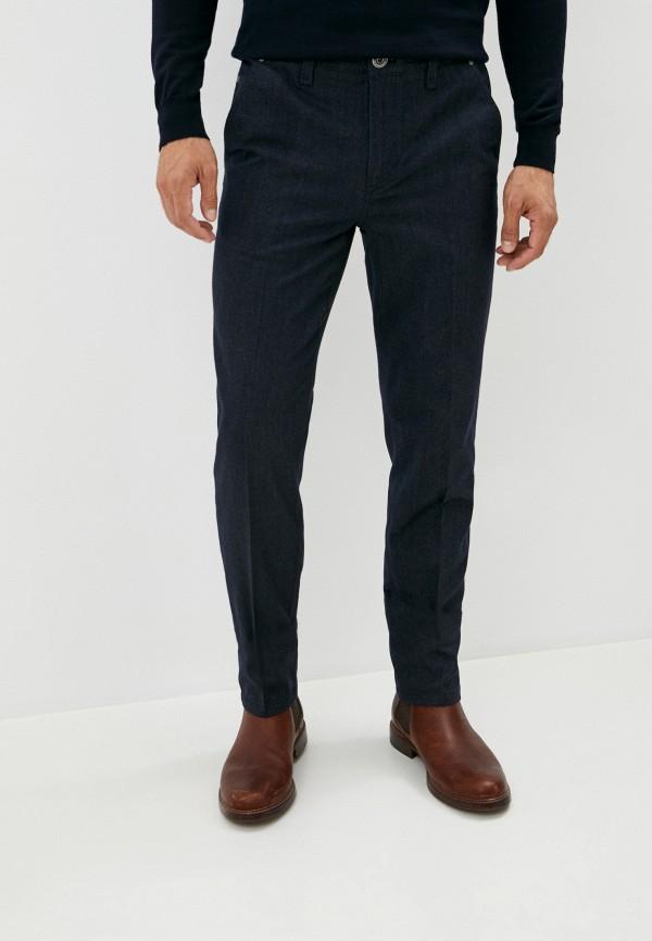 мужские повседневные брюки cortigiani, синие