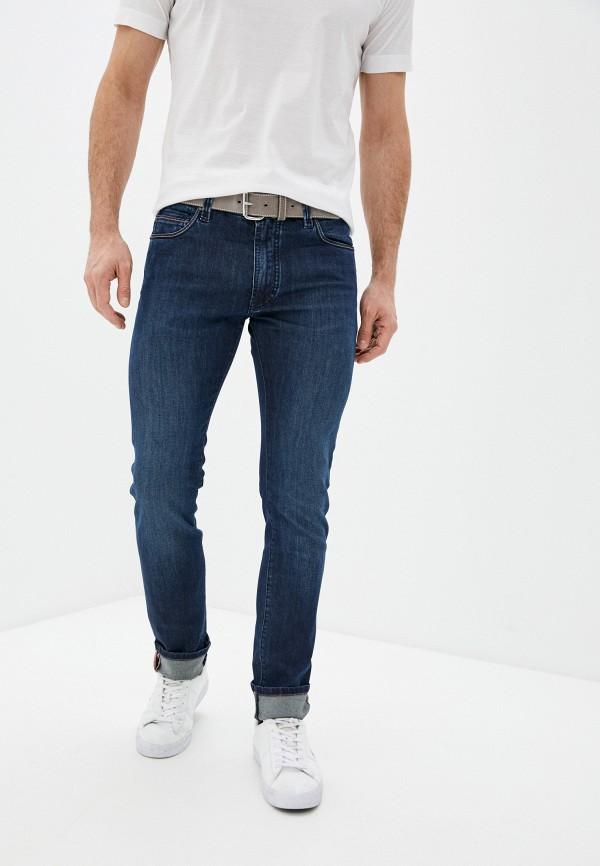 мужские прямые джинсы cortigiani, синие