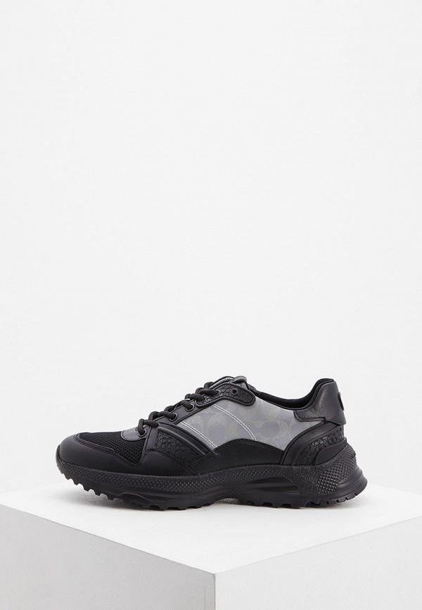 мужские кроссовки coach, черные