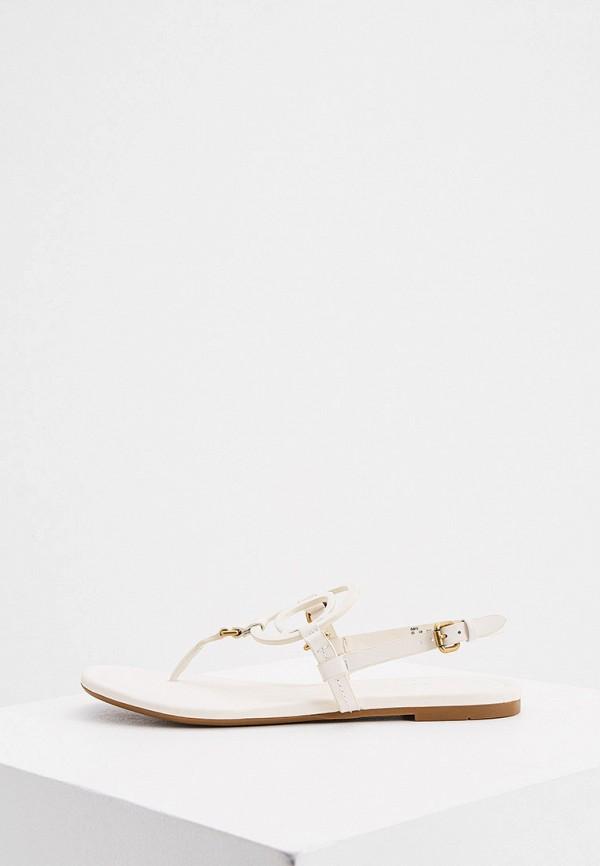 женские сандалии coach, бежевые