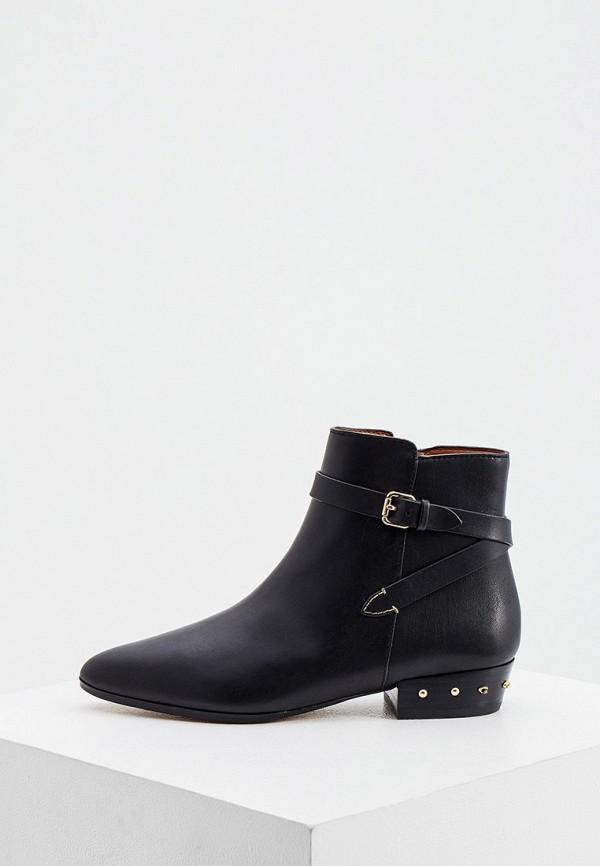 женские ботинки coach, черные