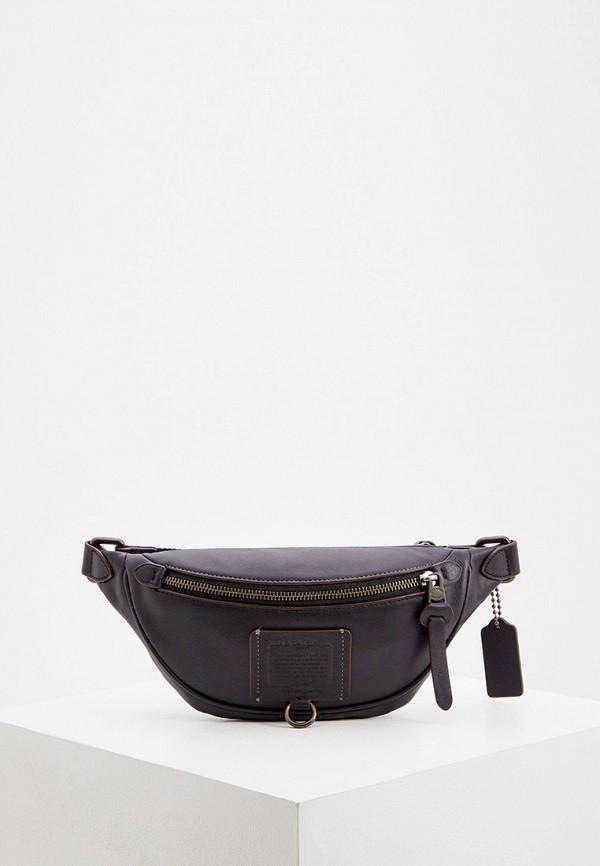 мужская сумка coach, черная