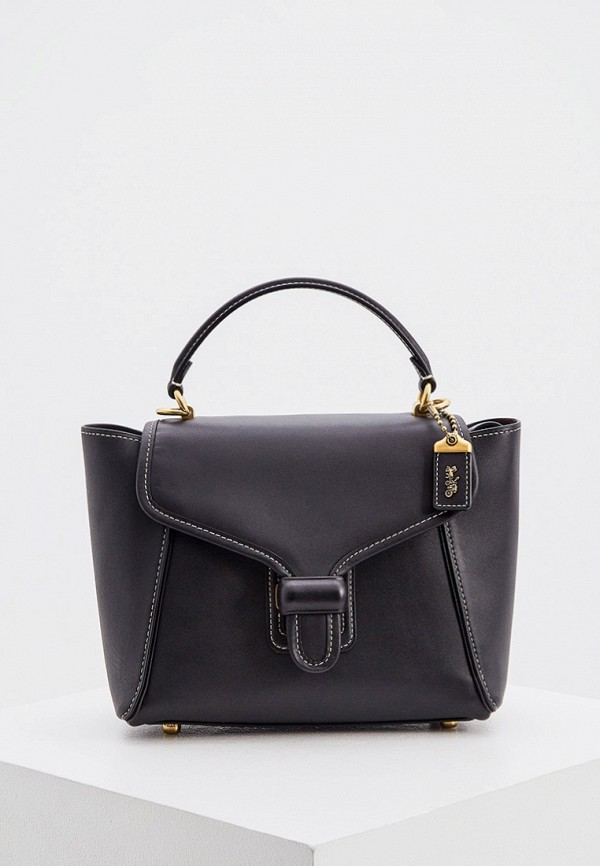 женская сумка coach, черная