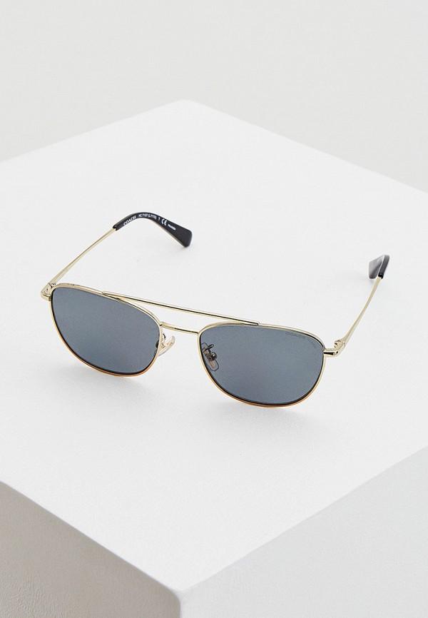 женские солнцезащитные очки coach, серые