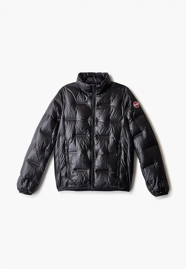 куртка colmar для мальчика, черная