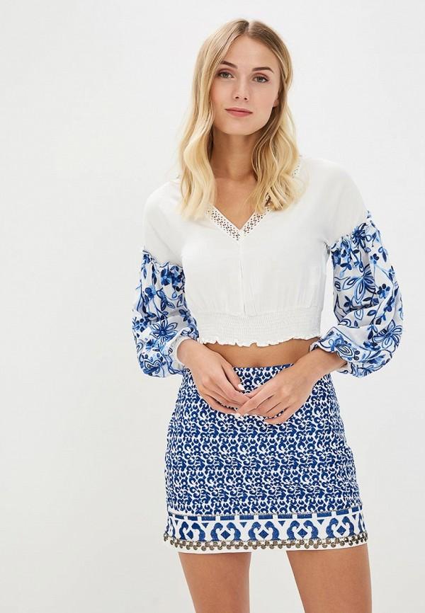 женская блузка colcci, белая
