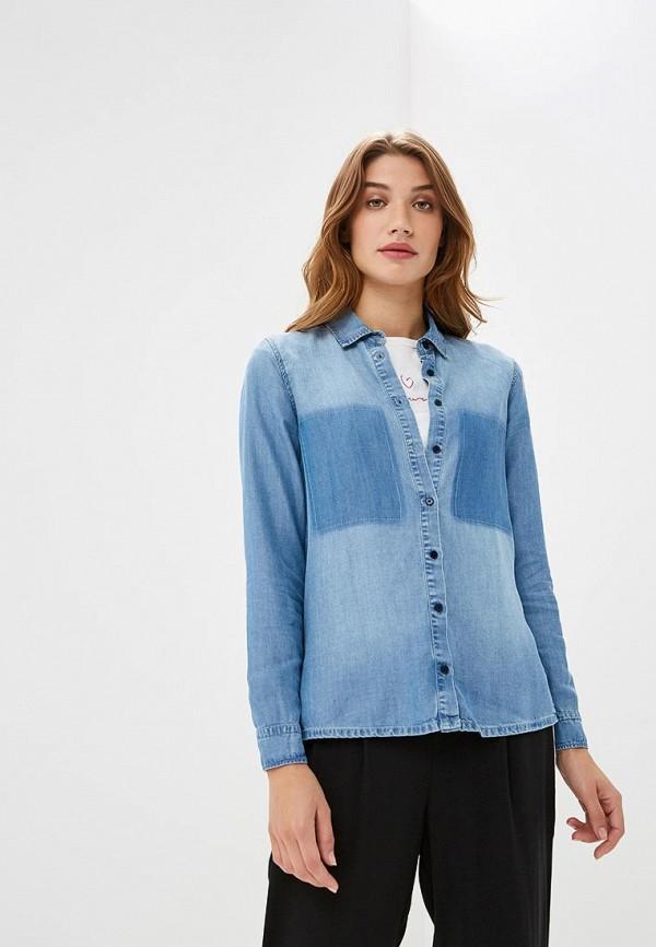 Купить Рубашка джинсовая Colcci, co072ewccvm9, синий, Осень-зима 2018/2019