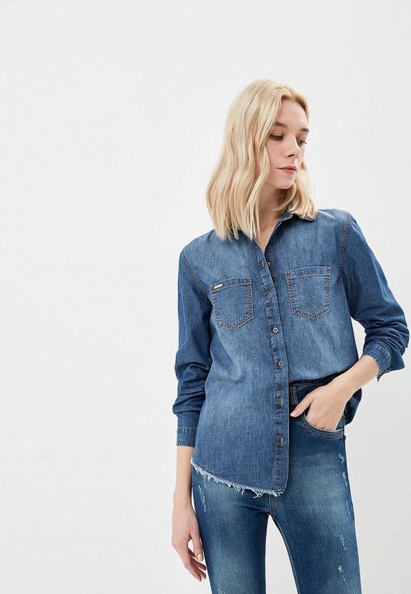 Купить Рубашка джинсовая Colcci, co072ewccvn0, синий, Осень-зима 2018/2019