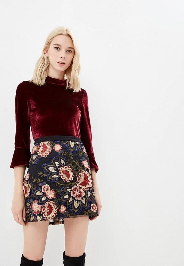 Купить Блуза Colcci, co072ewccvn2, бордовый, Осень-зима 2018/2019