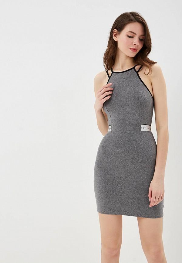 женское повседневные платье colcci, серое
