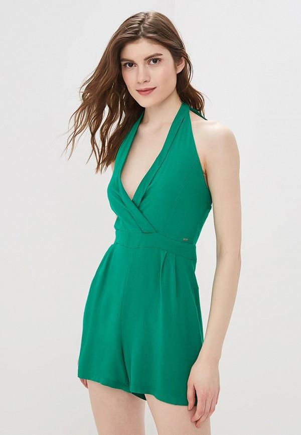 женский комбинезон colcci, зеленый