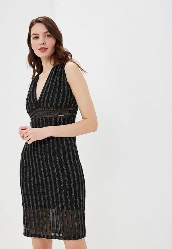 женское вечерние платье colcci, черное