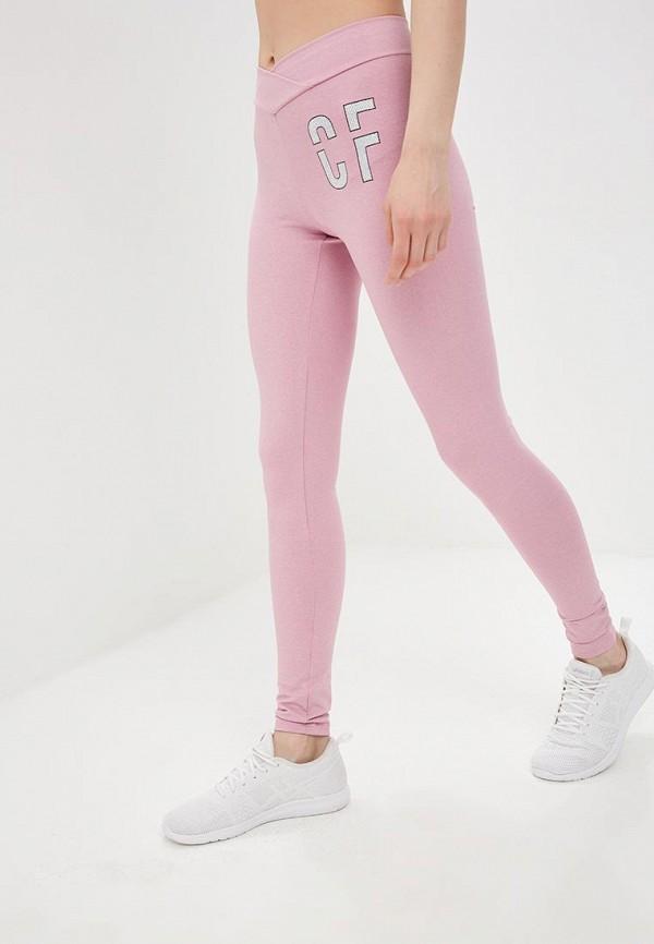 женские леггинсы colcci, розовые
