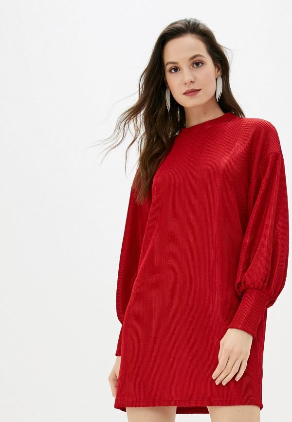 женское повседневные платье colcci, красное