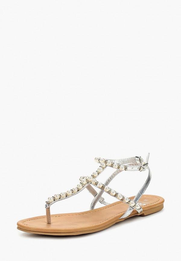 женские сандалии code, серебряные