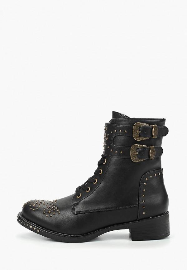 женские ботинки code, черные