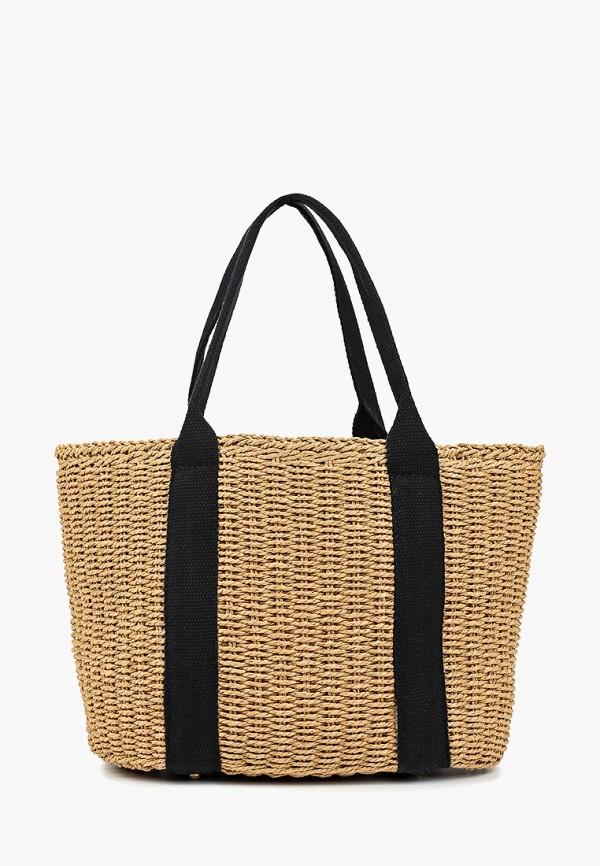 женская сумка code, бежевая