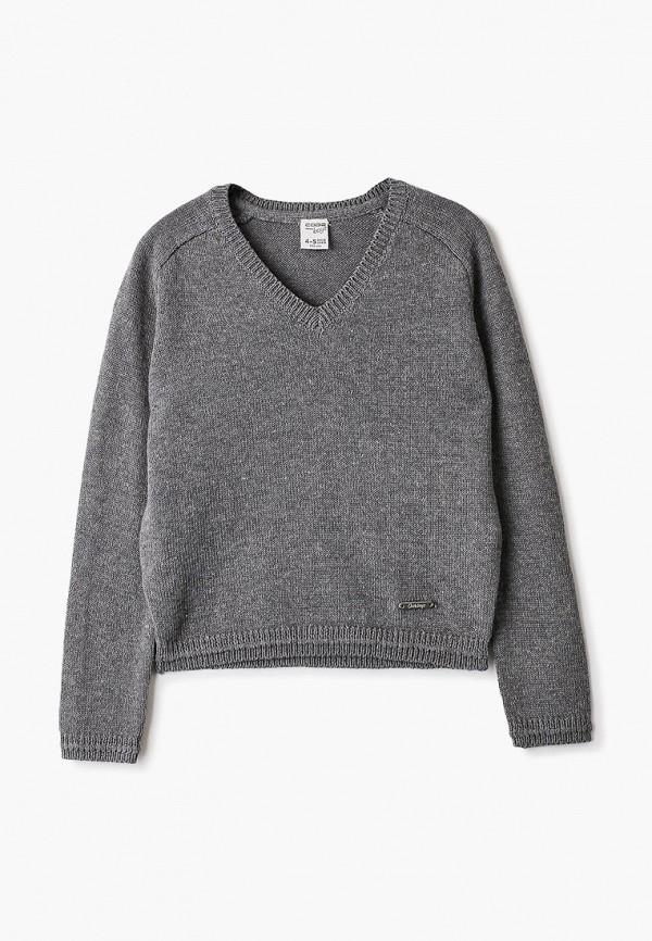 пуловер code для мальчика, серый