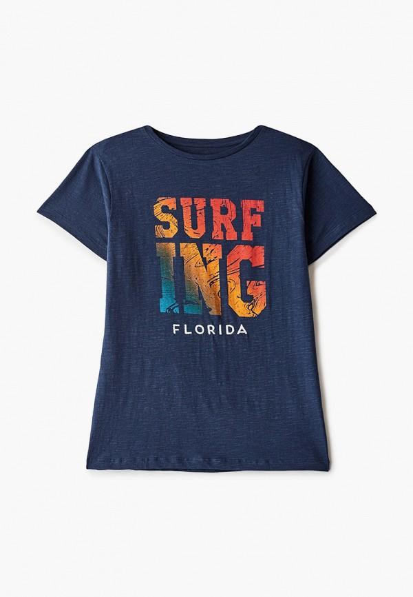футболка с коротким рукавом code для мальчика, синяя