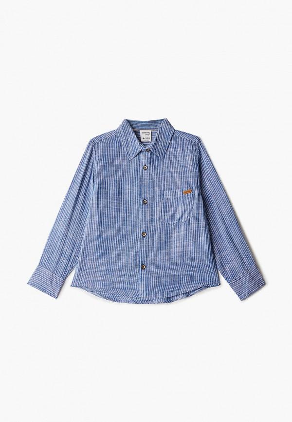 джинсовые рубашка code для мальчика, синяя